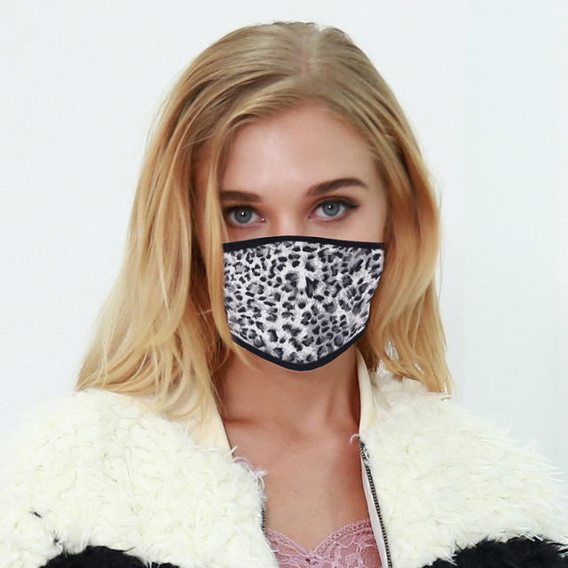 Printing Mouth Mask Reusable Protective PM2.5 Filter Paper Mask Anti Dust Face Mask Bacteria Proof Flu Mask             3