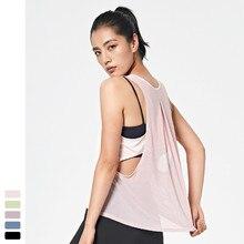 2020 Women Summer i shaped back vest tanks top running fitness shirt gym sport sleeveless yoga pilates summer blouse