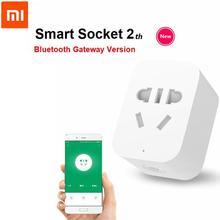 Xiaomi Mi Smart WiFi Socket 2 Plug bluetooth gateway Version Remote Control Work With Xiaomi Smart Home Mijia Mi home APP