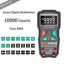 9999 zählt True-RMS NCV Smart Digital-Multimeter Hohe Präzision Multimeter Automatische-Multimeter Berufs Multimeter Tester