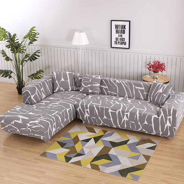 Фото 1 шт/2 шт чехол для дивана с геометрическим узором l образный цена