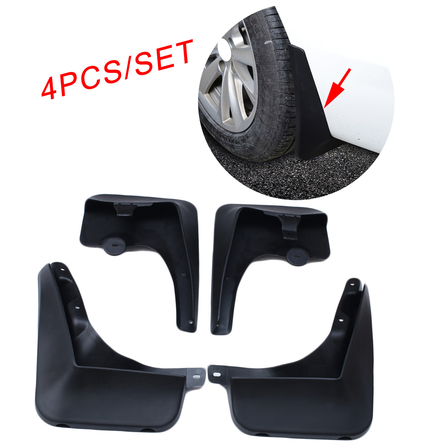 Fender Splash Protect Board Fit For BMW F10 2011 2014 2015 2016 Accessories Dust Dirtboard Wheel Shield Plate Cover|Mudguards| |  - title=