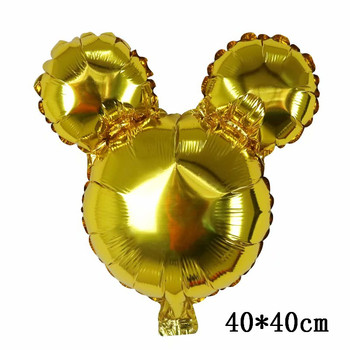 Giant Mickey Minnie Mouse Balloons Disney cartoon Foil Balloon Baby Shower Birthday Party Decorations Kids Classic Toys Gifts 16