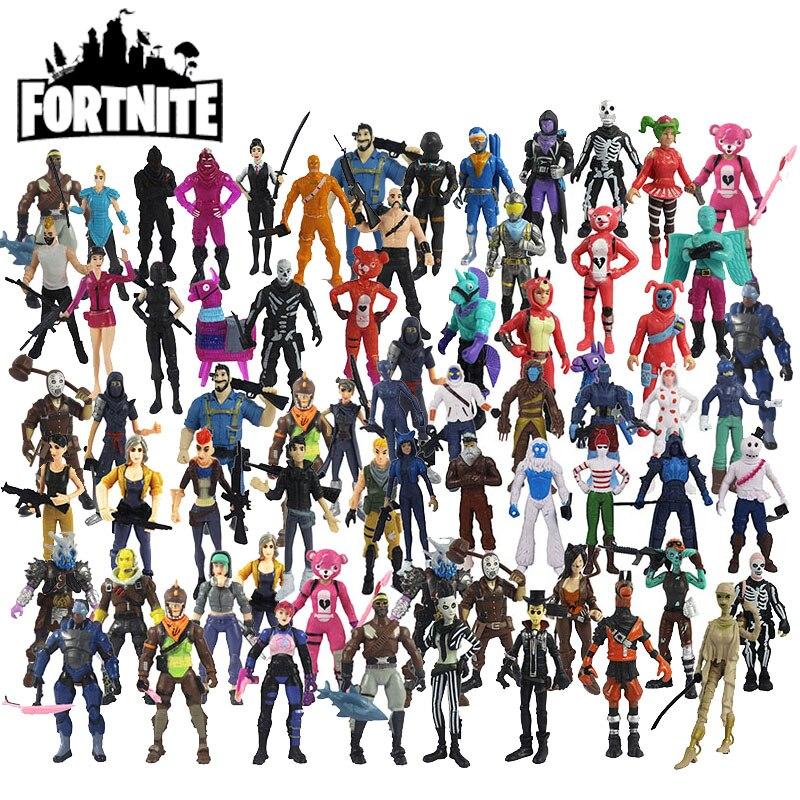 Экшн-фигурки Fortnite разных серий, набор игрушек, игровые фигурки, куклы, коллекционные украшения, детские подарки на день рождения