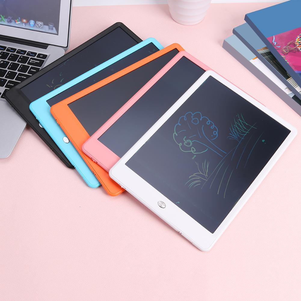 10 Inch LCD Writing Tablet,LCD Tablet Office Painting Board Light Energy Electronic Board Rough Handwriting Family Memo Office Writing Color : Pink