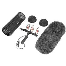 Boya By-Ws1000 Blimp Windshield & Suspension For Shotgun Microphones Cage Handle Shock Absorber Wind Sweater Mic Cable