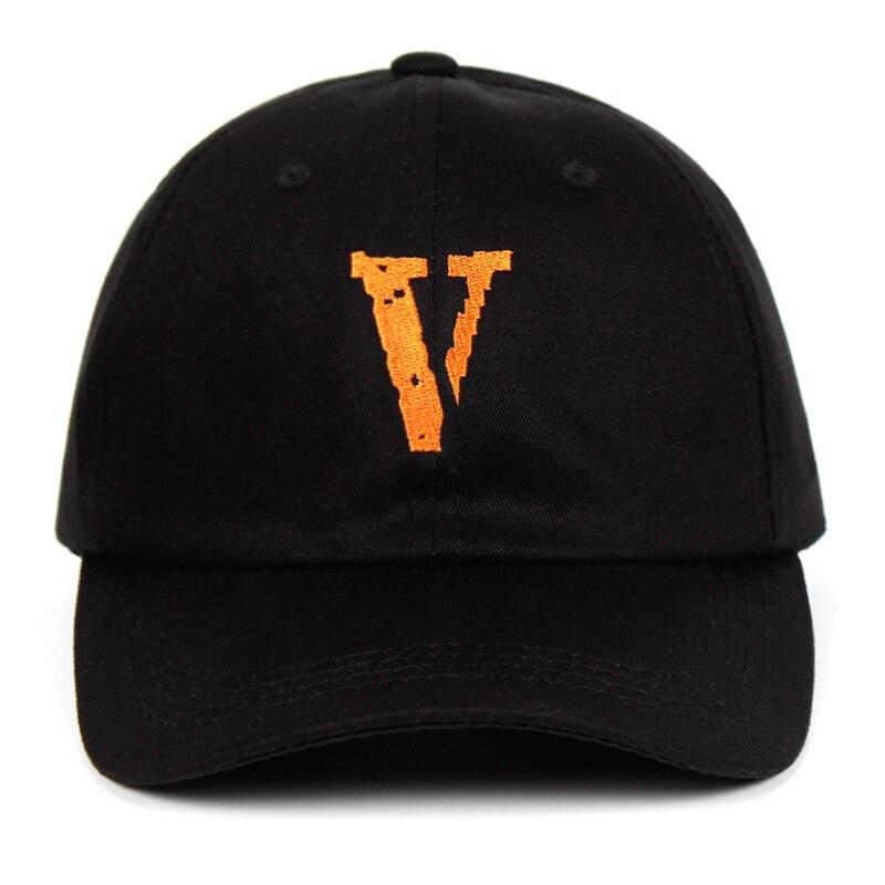 Kanye West V Live 100% Cotton letter embroidery Baseball Dad Hat  3