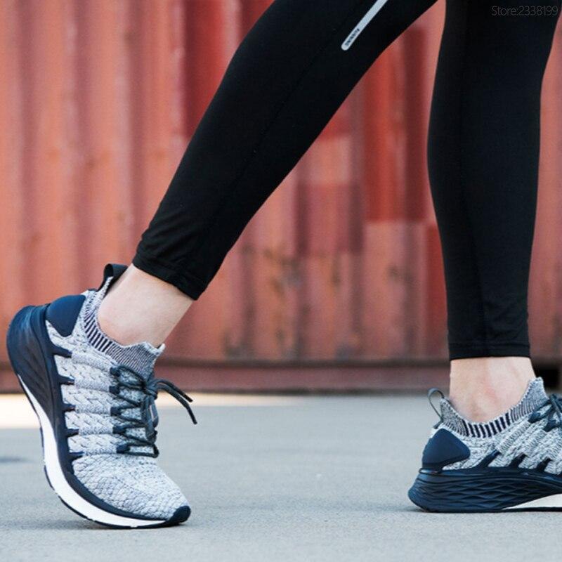 100% Original Xiao mi mi jia chaussures 3 baskets 3th hommes course Sport plein air nouveau Uni-moulage 2.0 confortable et antidérapant Stock - 4