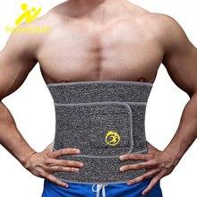 Ningmi мужской пояс для похудения моделирующий неопреновый сжигания