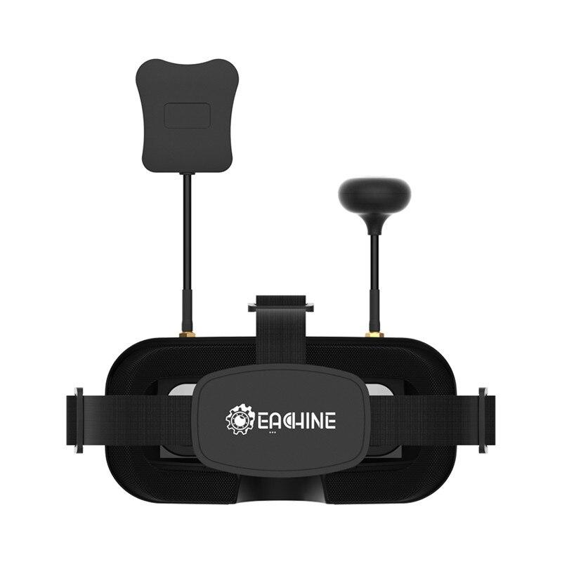 Gafas de protección Eachine EV800DM Varifocal 5,8G 40CH Diversity FPV con HD DVR 3 pulgadas 900x600 auriculares de vídeo con batería incorporada - 3