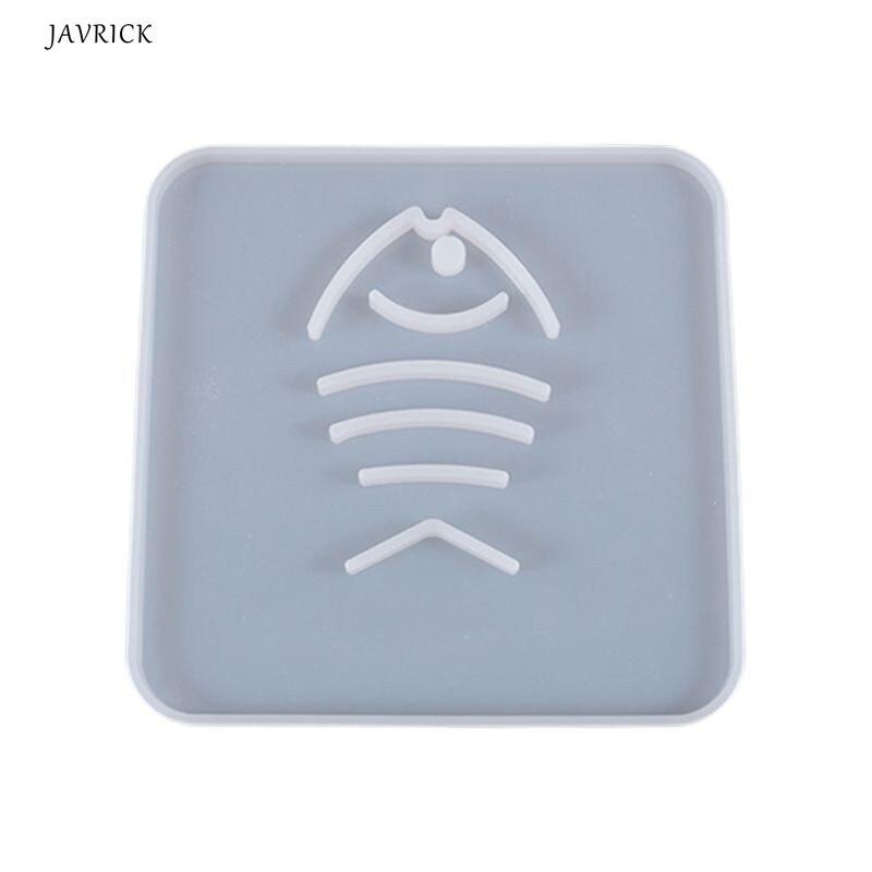 Кристальная эпоксидная смола, форма Coaster Cup Mat литая силиконовая форма «сделай сам» ремесла украшение стола инструмент для изготовления юве...