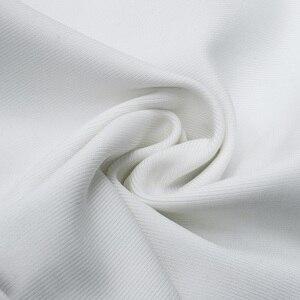 Image 5 - VC Miễn Phí Vận Chuyển 2020 Sang Trọng Lệch Vai Băng Vestidos Xù Chém Cổ Bodycon Đầm Danh Nhân Dáng Cổ