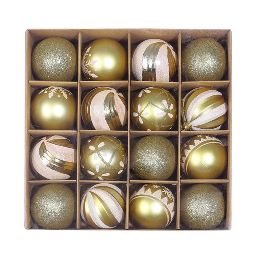 16 x Christmas Tree Baubles 14