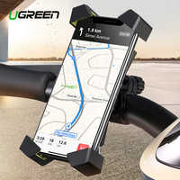Ugreen Bicycle Phone Holder for iPhone X S 8 Cell Phone Holder Bike Handlebar Phone Holder For Samsung Bicycle Phone Mount Stand
