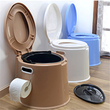 4 Color Portable Toilet Seat Travel Camping Hiking Outdoor Indoor Potty Commode Portable-Travel-Bucket-wc-Indoor