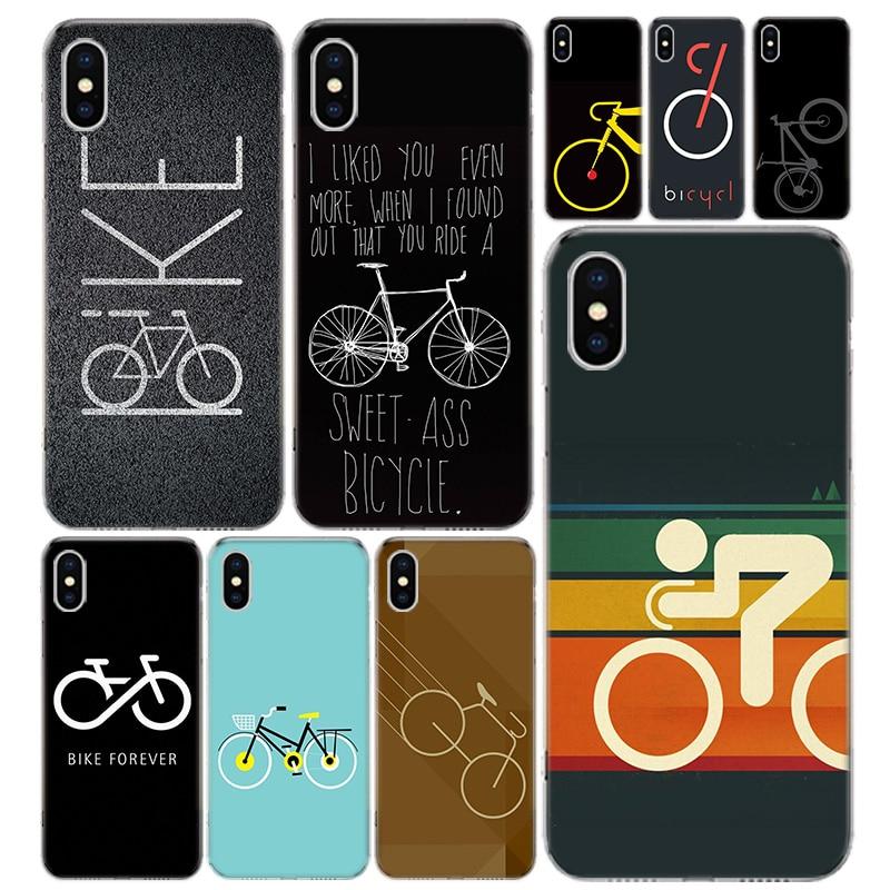Bicicleta esporte coqu telefone capa para iphone 12 mini pro 11 7 8 6s plus + x xs max xr 5 5S se moda arte tpu coque ela