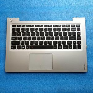 New/orig lenovo ideapad U330 U330P U330T US keyboard bezel Palmrest topcase Upper cover Silver