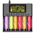 Умное устройство для зарядки никель-металлогидридных аккумуляторов от компании LiitoKala: Lii-S6 зарядное устройство 18650 зарядное устройство 6-Slot ...