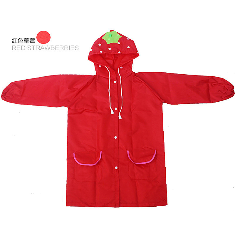 PPXX Cartoon Children Raincoat Kid Jacket Waterproof Outfit Rain Cover Baby Kids Poncho Cloak Hoody Coat Toddler 4