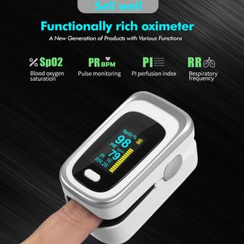 Digital Fingertip Pulse Oximeter Heart Rate SPO2 PR Blood Oxygen Sleep Monitor 50JC yk 820mini 2 4inch color tft screen handheld pulse oximeter spo2 pulse rate blood oxygen monitor oxymeter
