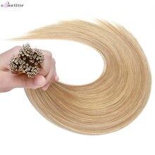 S noilte 1 г/нитка нано кольца прямые человеческие волосы удлинители