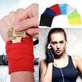 Сплошной браслет с карманом на молнии, Спортивная Повязка на руку для йоги, бега, дышащая Спортивная поддержка запястья для фитнеса, безопас...