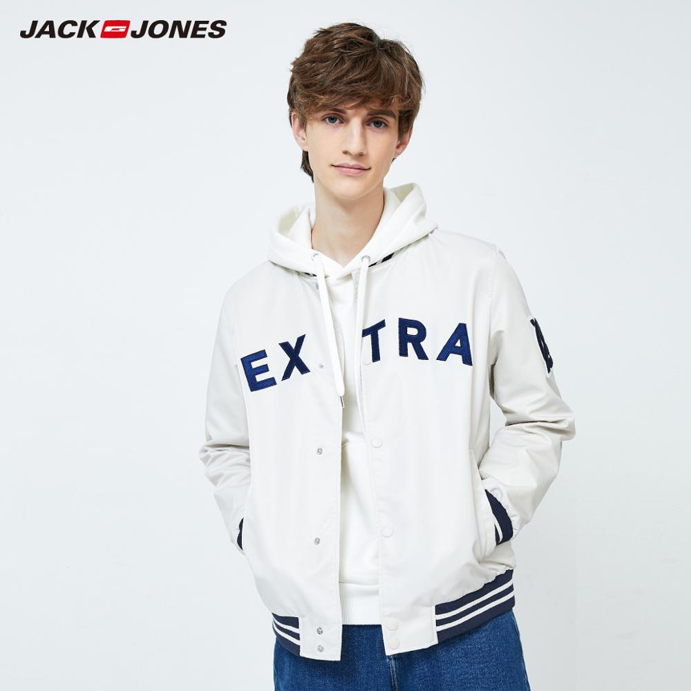 JackJones Men's Spring Casual Baseball Collar New Fashion Jacket Menswear| 219321549