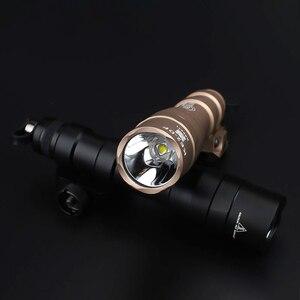 Image 2 - Airsoft Surefir M600 M600DF Scout Licht 1300Lumen Super Heldere Rifle Wapen Tactische Zaklamp Met Remote Drukschakelaar