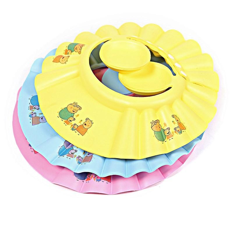 Baby Water Retaining Earmuff Cover Earmuffs Hat CHILDREN'S Shower Cap Waterproof Earmuff Adults Extra-large Bath Mu Yu Mao