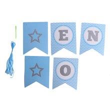 Баннеры на стул для первого дня рождения ребенка, баннеры на один год, баннеры на первый день рождения, украшения для вечеринки для мальчиков и девочек