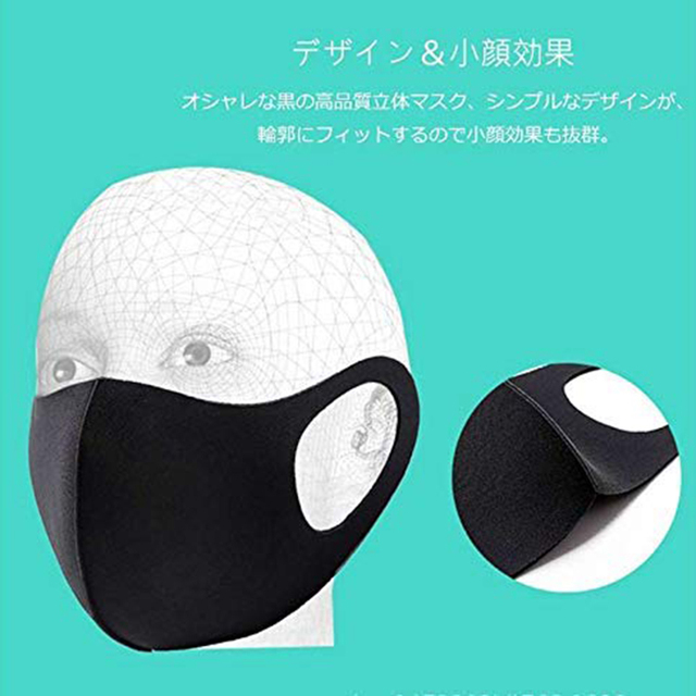 5pcs Washable Reusable Anti Haze Mouth Cotton Anti-dust Mask Flu Face Mask PM2.5  Mask korean Unisex Mask 3