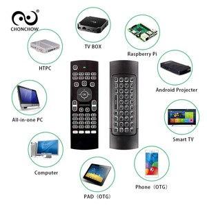 Image 3 - Upgrade MX3 A MX3 M MX3 L Backlit Air Maus Stimme Fernbedienung 2,4G Wireless Tastatur für X96 Mini A95X H96 MAX android TV Box