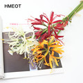Искусственный цветок Lycorisradiata, домашний декор для гостиной, Шелковый цветок, Свадебная сцена, раскладка, Рождественская елка, искусственные ...