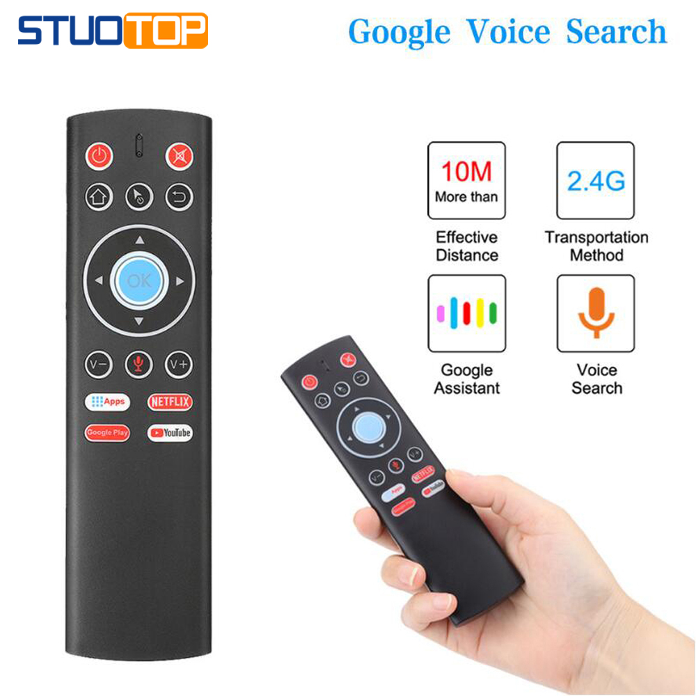 Infrared-Learning-Microphone Tv-Box Air-Mouse HK1MAX Android A95x R3 H96 Max Wireless