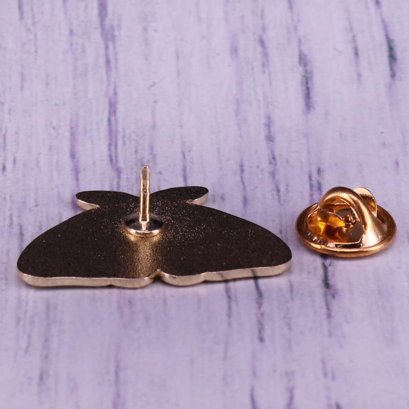 Moth Enamel Pin