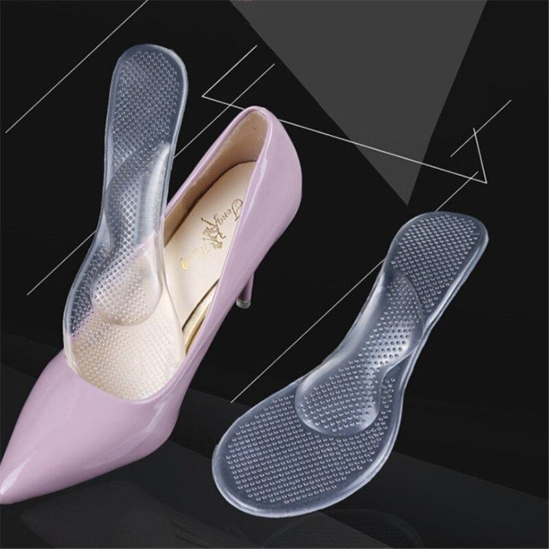 1 пара женских стелек с супинатором и подушкой ортопедические и ортопедические туфли на высоком каблуке вставки подушечки силиконовый