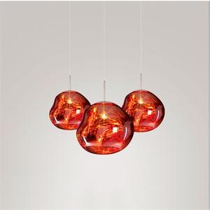 Image 3 - Nordic Pendant Lights lustre 100% PVC Lava Pendant Lamp Purple Lighting Hanging Lamp Master Bedroom Bar Europe Kitchen Lights