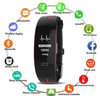 Two-tone Sport Watch Blood Pressure Detection and Heart Rate Sports Health Watch Men Digital Watch Sport Watch Men Waterproof
