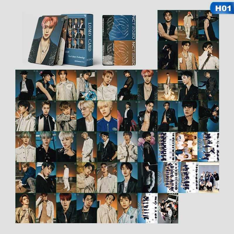 NCT 2020 Pt1 Sticker /& Pin Set Kpop NCT