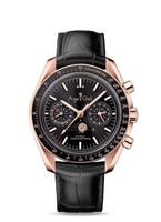 Luxury Brand New Men Automatic Mechanical Watches Speed Black Blue Leather Canvas Luminous Moonphase Watch Dark Ceramic Bezel