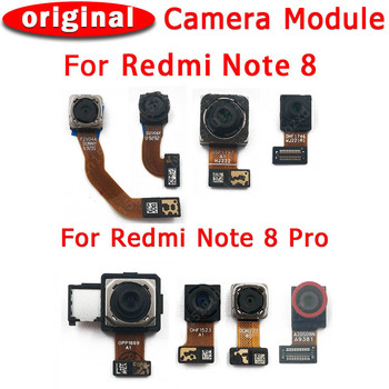 Original Front and Rear Back Camera For Xiaomi Redmi Note 8 Pro Main Facing Camera Module Flex Cable Replacement Spare Parts 1