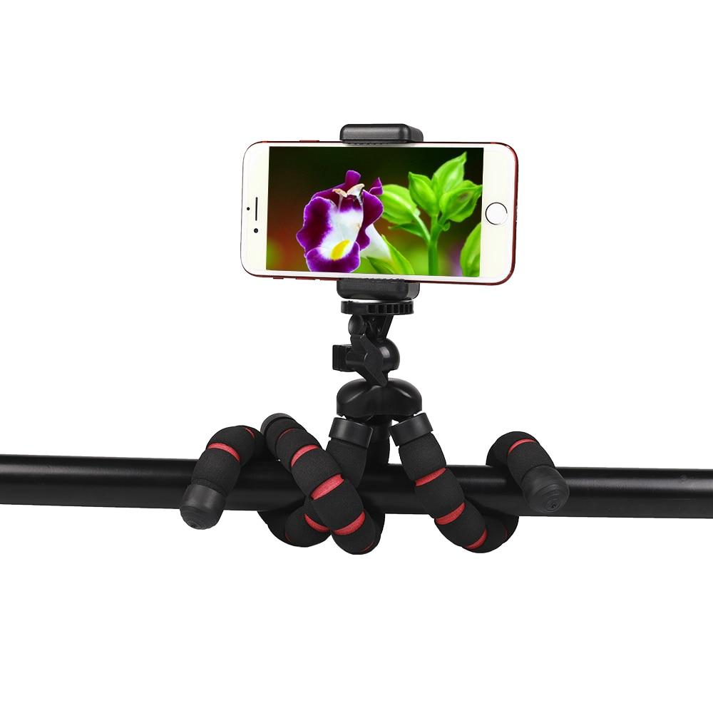 Camera Accessories Flexible Sponge Octopus Tripod for Canon/Nikon/Sony Go pro 7 6 5H9R Sj9 Sj8 pro DJI OSMO Action Mobile Phone