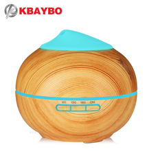 KBAYBO 200ML Air humidifier ultrasonic electric aromatherapy essential oil purification diffuser with 7 colors LED lights цена и фото