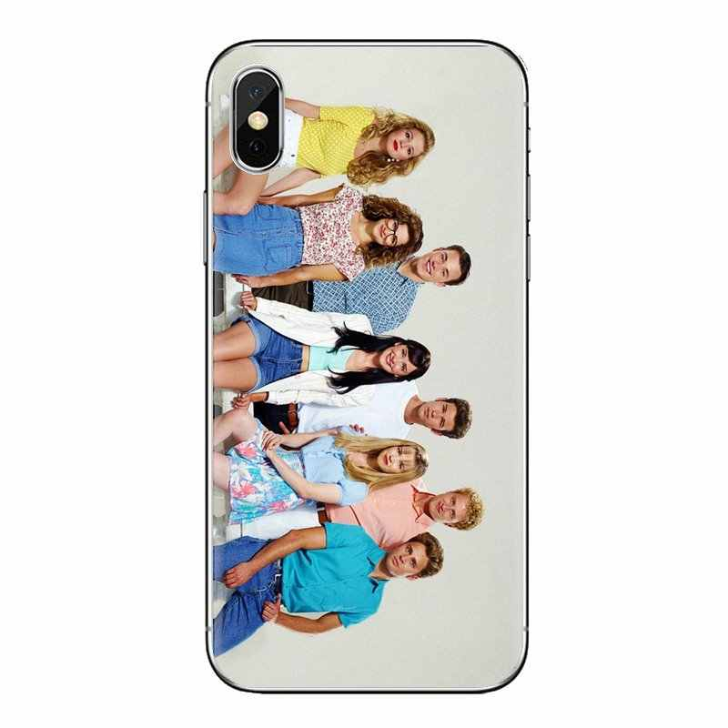 สำหรับ iPhone XS Max XR X 4 4S 5S 5C SE 6 6S 7 8 Plus samsung Galaxy J1 J3 J5 J7 A3 A5 Beverly Hills 90210 TV Series 1990 ที่อยู่อาศัย