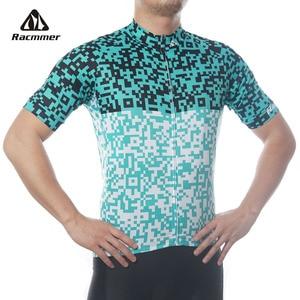 Racmmer Pro Cycling Jersey 2020 Mtb Jersey Maillot Ciclismo Bike Bicycle Clothing Training Bicicleta Cycle Shirt Kit Jersey(China)