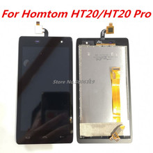New For HOMTOM HT20 Cell Phone LCD Display + Touch Screen Digitizer Assembly Replacement Glass For homtom ht20 pro