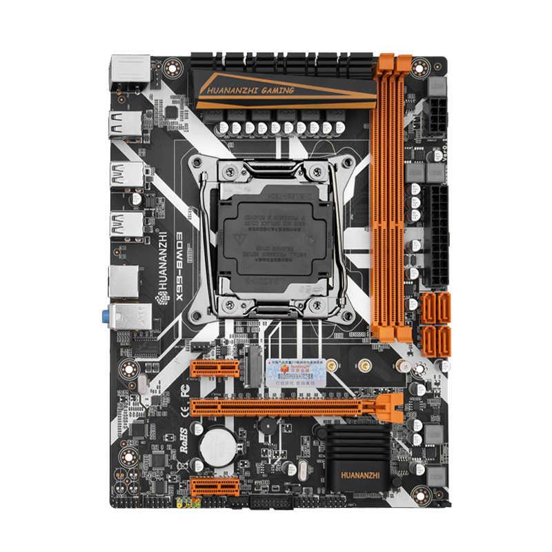 Placa base HUANANZHI X99 LGA2011-3 USB3.0 NVME M.2 SSD soporte DDR4 REG ECC memoria y procesador Xeon E5 V3 V4