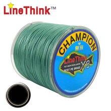 100m 300 500 ghampion linethink marca x8vertentes melhor multifilamento pe trançado linha de pesca trança de pesca frete grátis