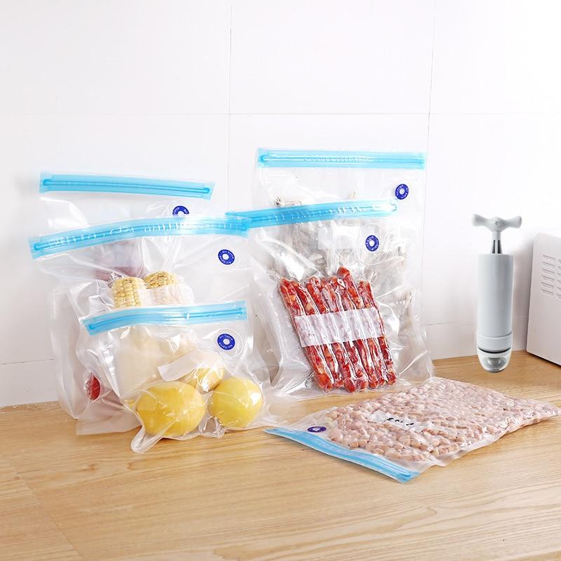 Manual Vacuum Pump Reticulate Food Vacuum Bag Tuba Take Vacuum Fresh Bag Food Bag Dense Bag Kitchen Food Preservation