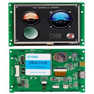 5,0 дюймовая HMI емкостная сенсорная панель с контрольной платой + программное обеспечение для промышленного управления 100 шт.